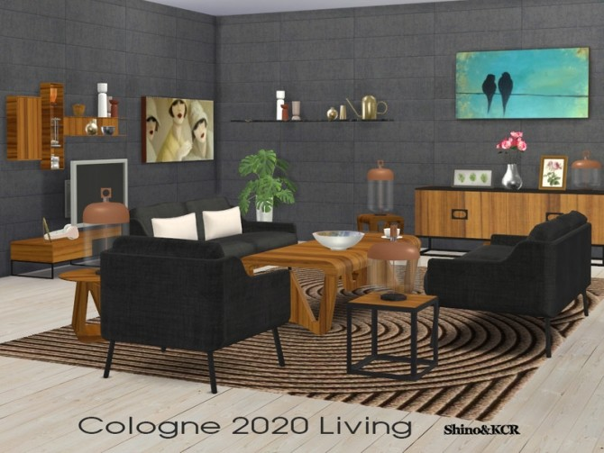 Sims 4 Living Cologne 2020 by ShinoKCR at TSR