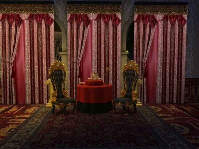 Sims 4 A whole new Set Of Curtains at Anna Quinn Stories