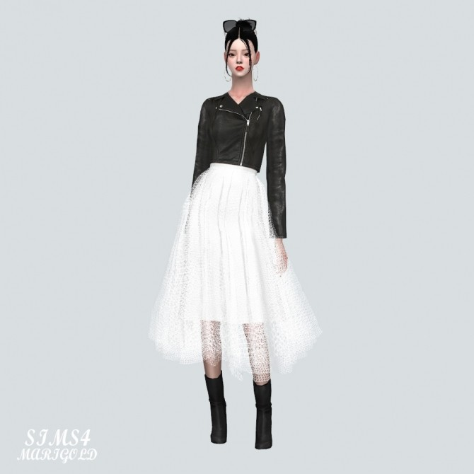 Ballerina Midi Skirt at Marigold image 1446 670x670 Sims 4 Updates