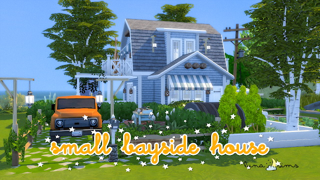 SMALL BAYSIDE HOUSE at Luna Sims image 1449 Sims 4 Updates
