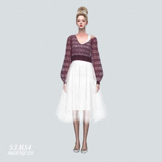 Ballerina Midi Skirt at Marigold image 1457 670x670 Sims 4 Updates