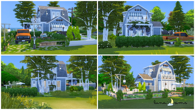 SMALL BAYSIDE HOUSE at Luna Sims image 1459 Sims 4 Updates