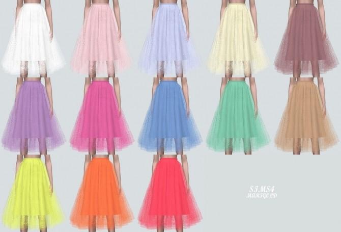 Ballerina Midi Skirt at Marigold image 1477 670x455 Sims 4 Updates