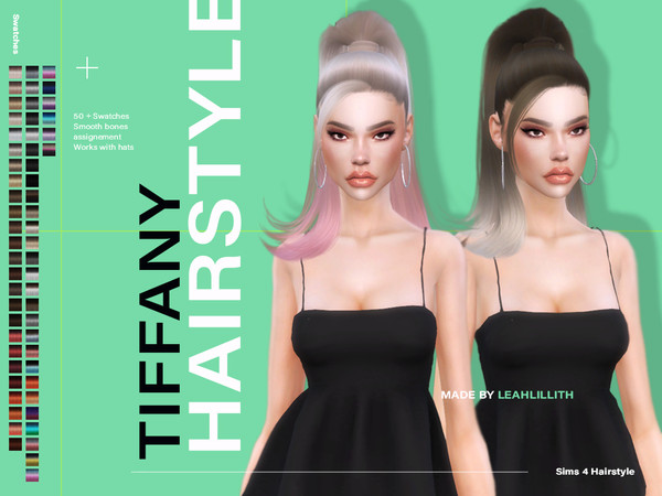 Tiffany Hairstyle by Leah Lillith at TSR image 1485 Sims 4 Updates