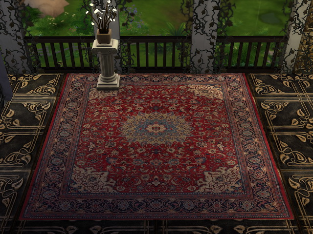 Sims 4 More Persian Rugs Collection Set 3 at Anna Quinn Stories