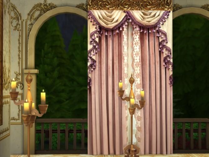 Sims 4 Set N*4 Of Elegant Curtains at Anna Quinn Stories