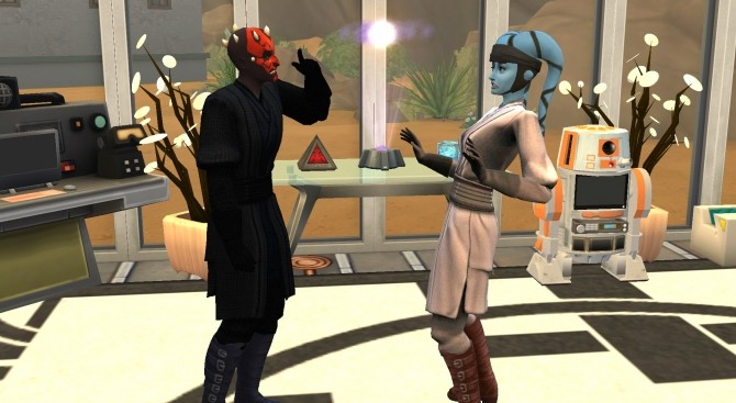 Sims 4 Star Wars Darth Maul Robe Recolors by Wanderflame at Mod The Sims