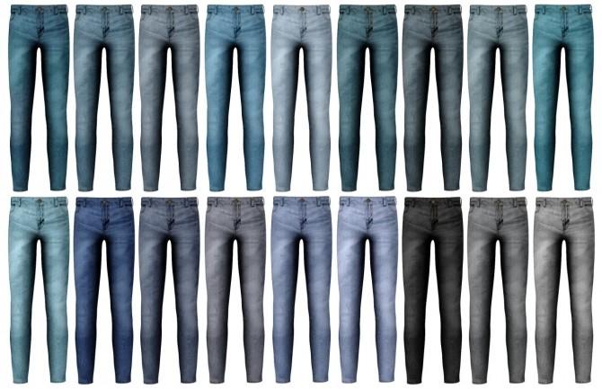 Hoodie, open shirt + skinny jeans at LazyEyelids image 1583 670x433 Sims 4 Updates