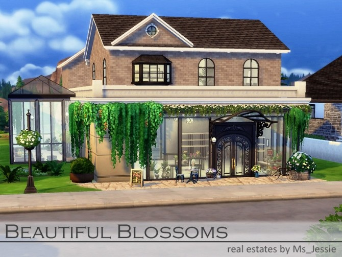 Beautiful Blossoms flower shop by Ms Jessie at TSR image 1590 670x503 Sims 4 Updates