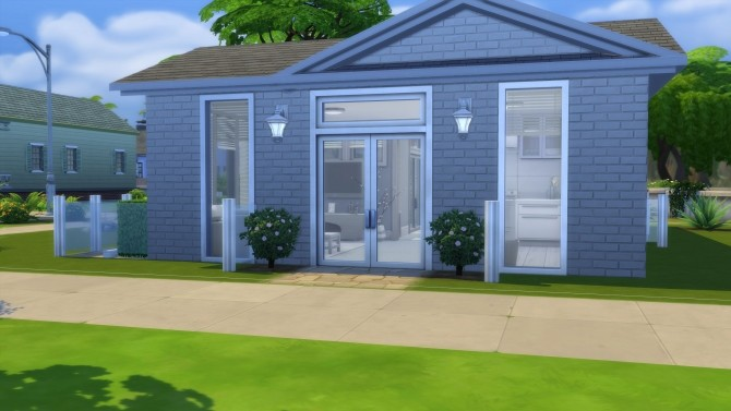 Small Modern Grey & White Themed Home by AnimeKayleigh at Mod The Sims image 1605 670x377 Sims 4 Updates