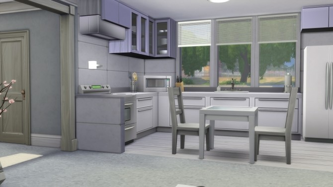 Small Modern Grey & White Themed Home by AnimeKayleigh at Mod The Sims image 1626 670x377 Sims 4 Updates