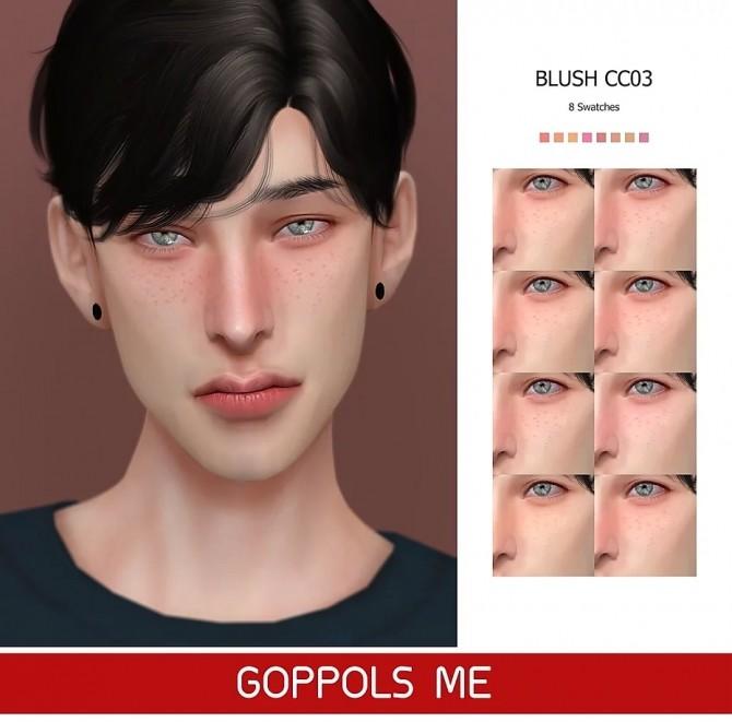 Sims 4 GPME GOLD Blush CC03 at GOPPOLS Me
