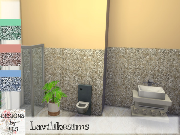 Sims 4 Caselio Tiles by lavilikesims at TSR