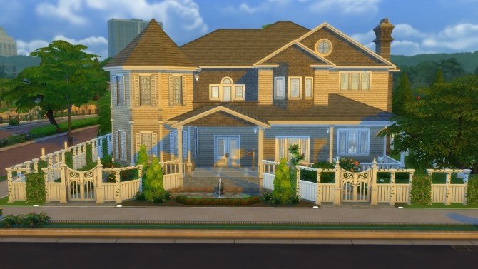 Cape Cod Mansion no cc by stevo445 at Mod The Sims image 1645 670x377 Sims 4 Updates