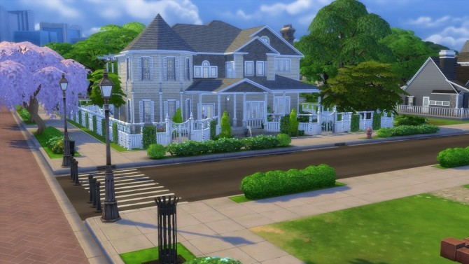 Cape Cod Mansion no cc by stevo445 at Mod The Sims image 1654 670x377 Sims 4 Updates
