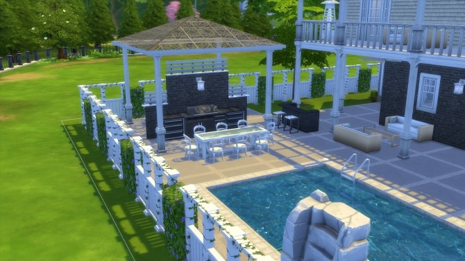 Cape Cod Mansion no cc by stevo445 at Mod The Sims image 1664 670x377 Sims 4 Updates