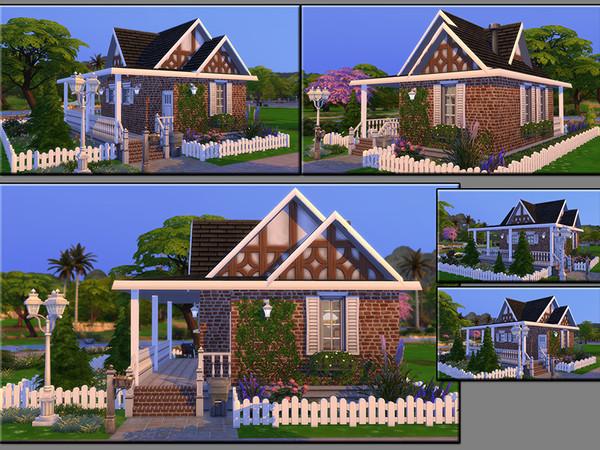 MB Tiny Timber house by matomibotaki at TSR image 1712 Sims 4 Updates