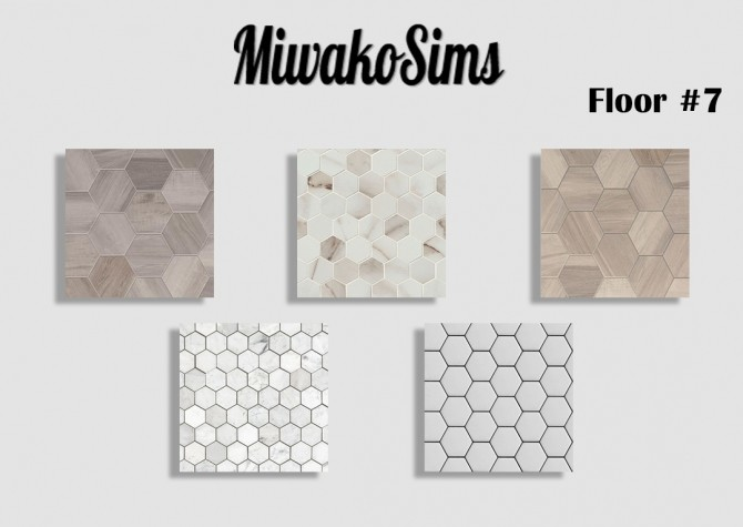 Sims 4 Collection #7 floor at MiwakoSims