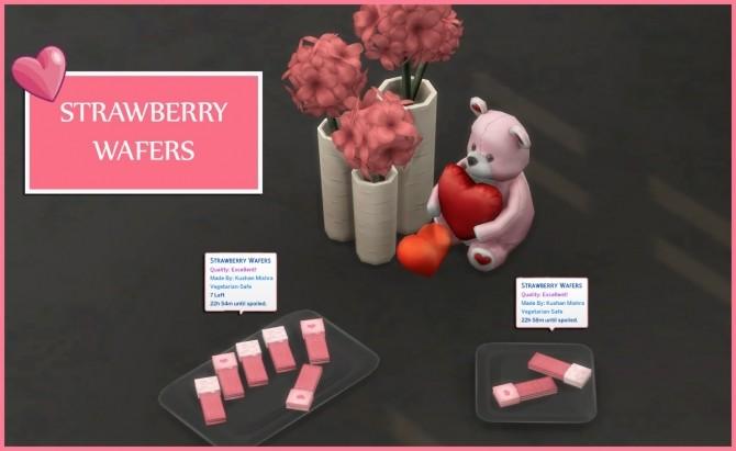 STRAWBERRY WAFERS at Icemunmun image 1734 670x411 Sims 4 Updates