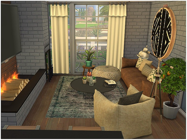 Tiny Open View family home by lotsbymanal at TSR image 1736 Sims 4 Updates