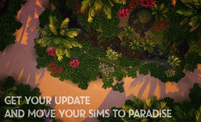Sims 4 303 TERRAINS REPLACEMENT UPDATE – ISLAND LIVING at K hippie