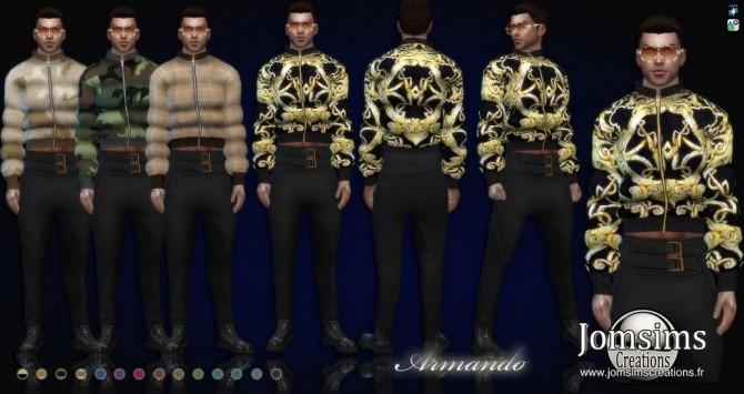 Sims 4 Armando jacket at Jomsims Creations