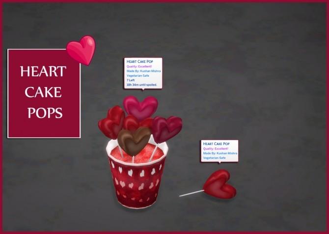 HEART CAKE POPS at Icemunmun image 1795 670x476 Sims 4 Updates