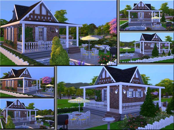MB Tiny Timber house by matomibotaki at TSR image 1810 Sims 4 Updates