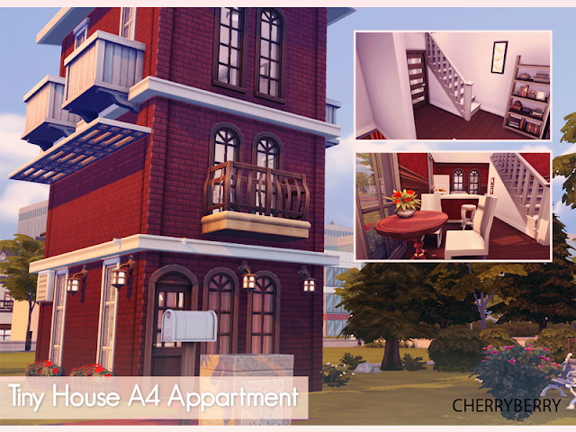 Tiny House A4 Apartment at Cherryberry image 1811 Sims 4 Updates