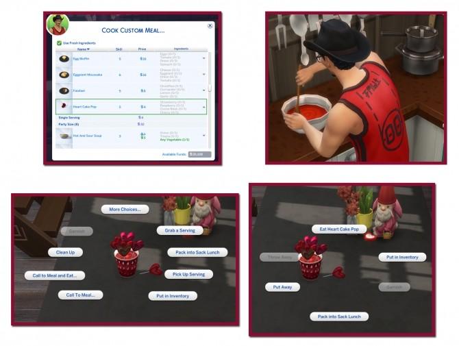 HEART CAKE POPS at Icemunmun image 18112 670x505 Sims 4 Updates