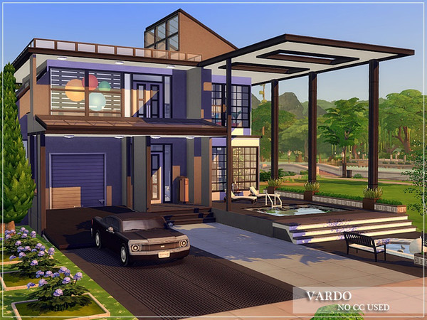 VARDO Modern home by marychabb at TSR image 183 Sims 4 Updates