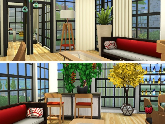 Austin contemporary house by melapples at TSR image 1850 670x503 Sims 4 Updates
