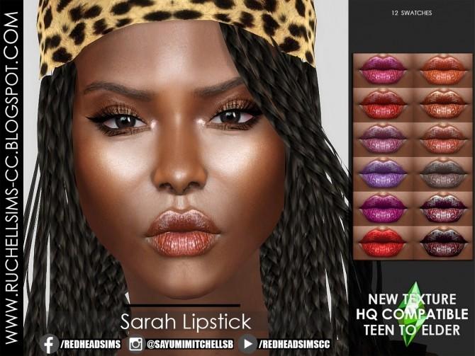 Sims 4 Sarah Lipstick at Ruchell Sims