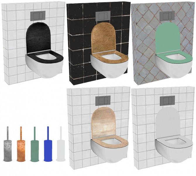 Recolors of Wondymoon's Platinum Bathroom at Riekus13 image 1891 670x600 Sims 4 Updates
