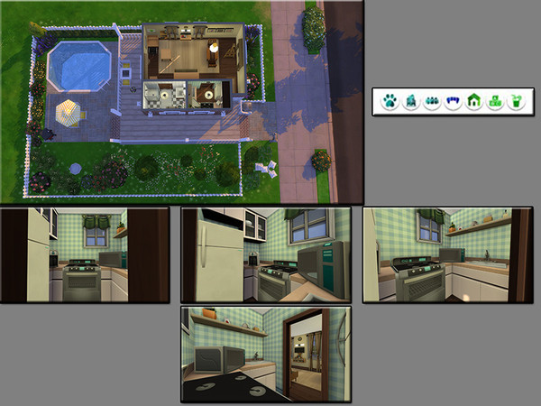 MB Tiny Timber house by matomibotaki at TSR image 1912 Sims 4 Updates