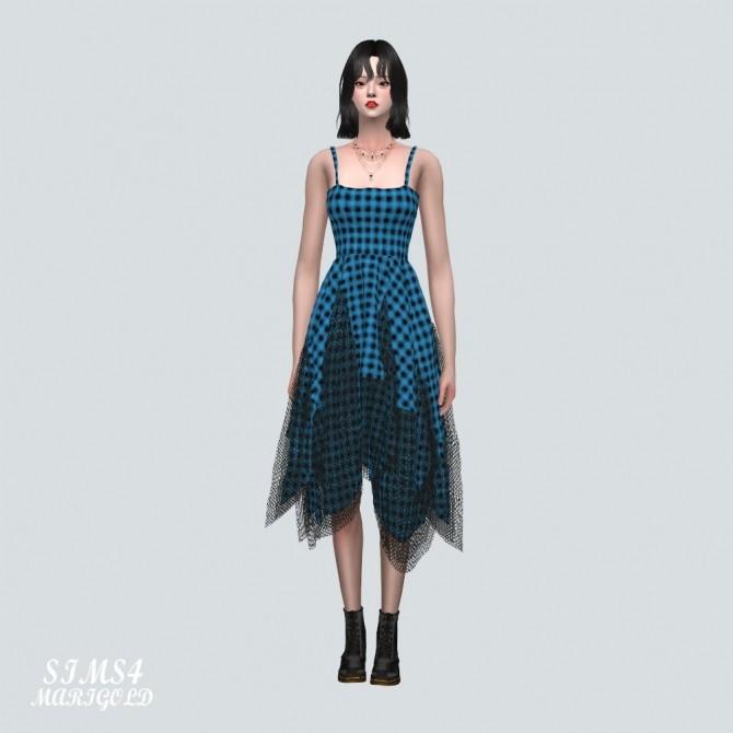 Sims 4 Unique Mesh Dress at Marigold