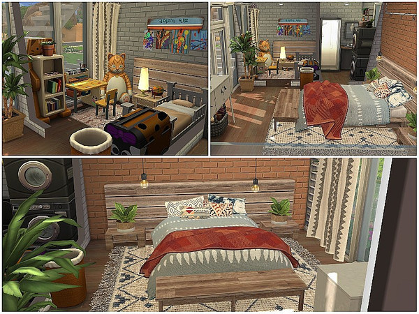 Tiny Open View family home by lotsbymanal at TSR image 1936 Sims 4 Updates