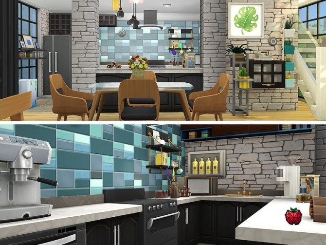Austin contemporary house by melapples at TSR image 1940 670x503 Sims 4 Updates