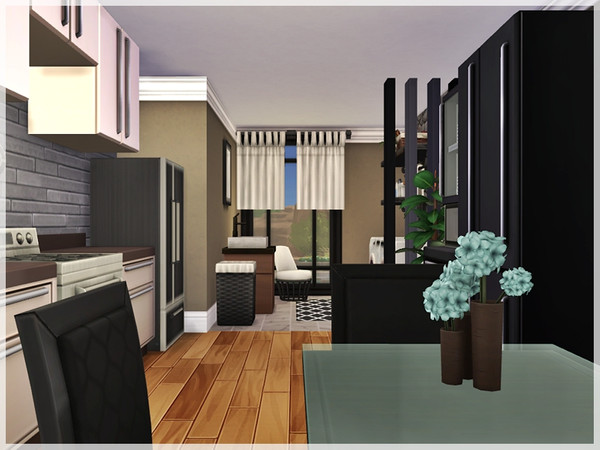 Sims 4 Edurne house by Ray Sims at TSR