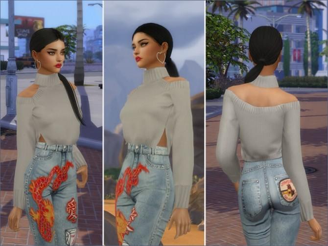 Sims 4 Monse Sweater at Giulietta