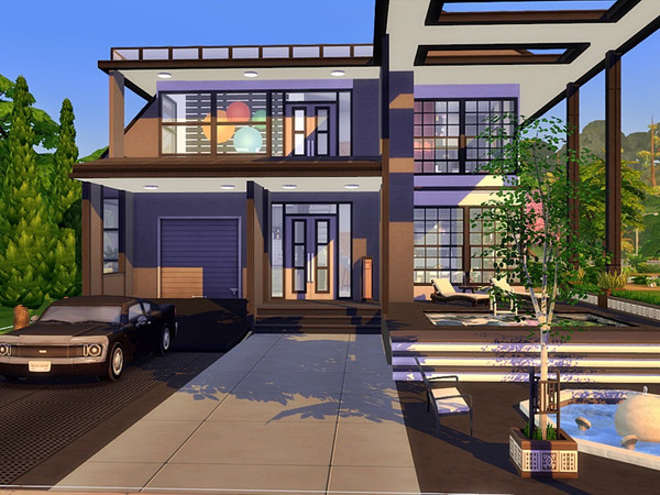 VARDO Modern home by marychabb at TSR image 2010 Sims 4 Updates