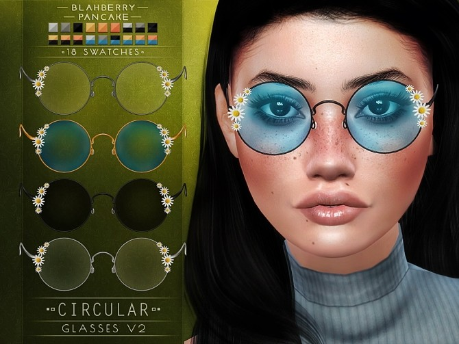 Circular glasses at Blahberry Pancake image 20112 670x503 Sims 4 Updates