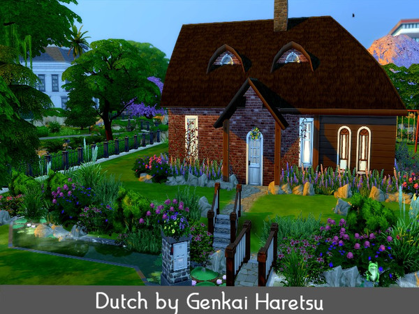 Dutch small country house by GenkaiHaretsu at TSR image 2012 Sims 4 Updates
