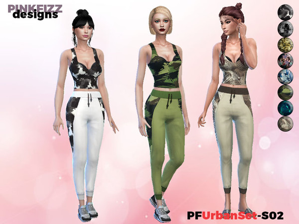 Urban Set S02 by Pinkfizzzzz at TSR image 2017 Sims 4 Updates