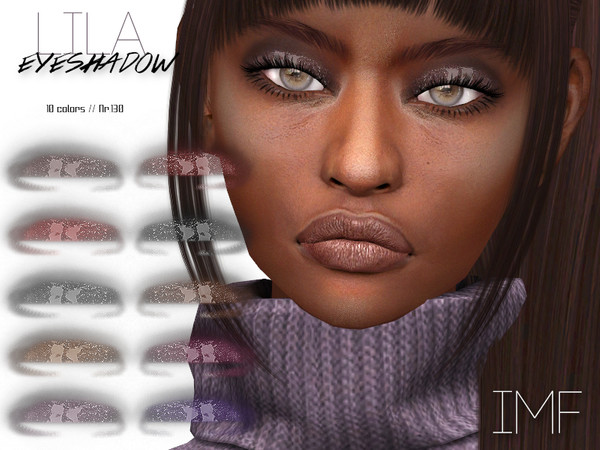 Sims 4 IMF Lila Eyeshadow N.130 by IzzieMcFire at TSR