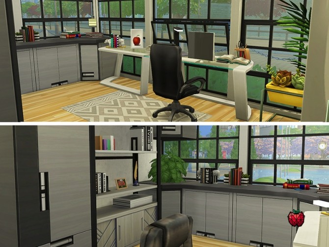 Austin contemporary house by melapples at TSR image 2038 670x503 Sims 4 Updates