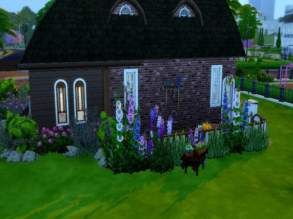 Dutch small country house by GenkaiHaretsu at TSR image 2112 Sims 4 Updates