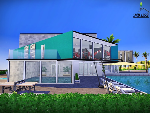 Ingrid modern spacious house by nobody1392 at TSR image 2138 Sims 4 Updates