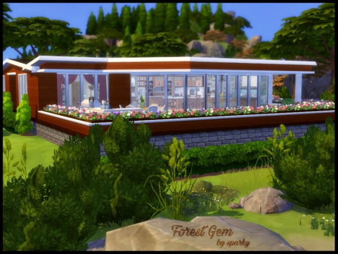 Sims 4 Forest Jem family home by sparky at TSR