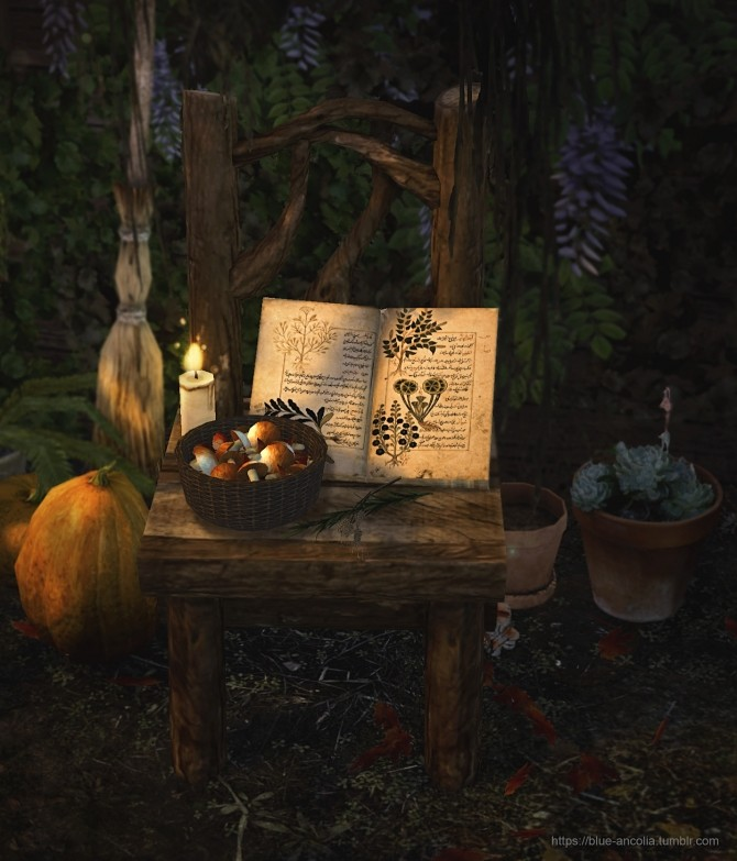 Sims 4 Outdoor Retreat Wooden Chair Retexture at Blue Ancolia